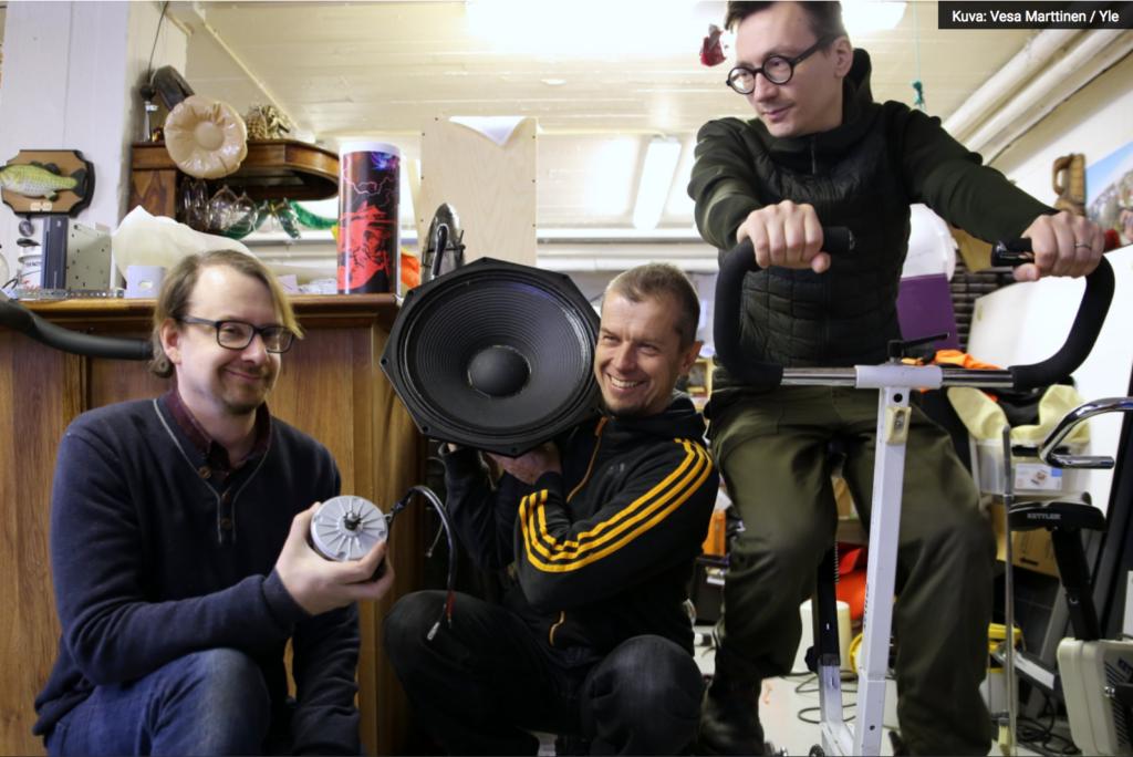 Janne Käpylehto, Kimmo Pohjonen, Tuomas Norvio